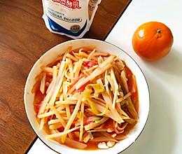 番茄炒土豆丝(特别下饭)的做法