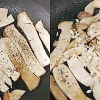 吃出肉味的香煎杏鲍菇➕太太乐鲜鸡汁蒸鸡原汤的做法图解5