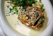 咸豆浆长寿魚的做法