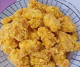#美食视频挑战赛# 不放一滴油的鸡米花的做法