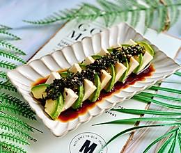 日式小清新,牛油果冷豆腐,10分钟上桌,清爽鲜嫩,好吃不腻的做法
