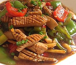 双椒爆炒腰花——无异味,超级爽脆。的做法