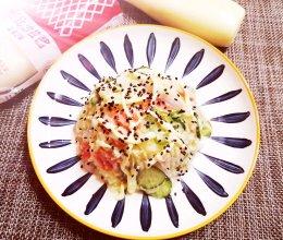 #一起土豆沙拉吧#时蔬拌土豆沙拉的做法