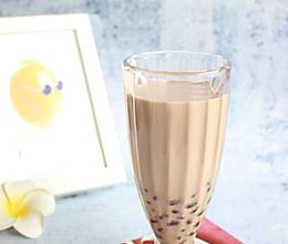 #夏日消暑,非它莫属#【红豆奶茶】自制更健康的做法