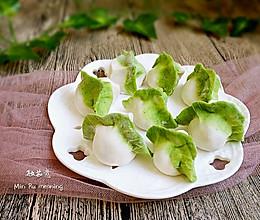 最适合宝宝的~胡萝卜肉馅翡翠饺子#柏翠辅食节~营养辅食#的做法