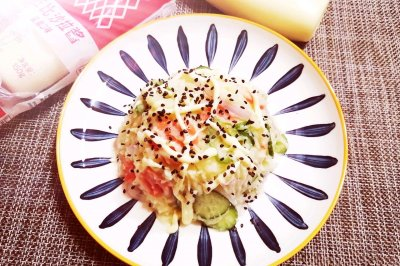 时蔬拌土豆沙拉