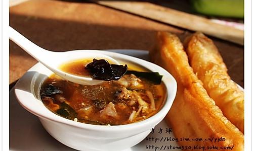 羊肉丸子胡辣汤的做法