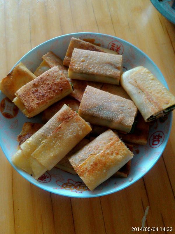 黄金脆皮干豆腐卷懒人必备早餐首选