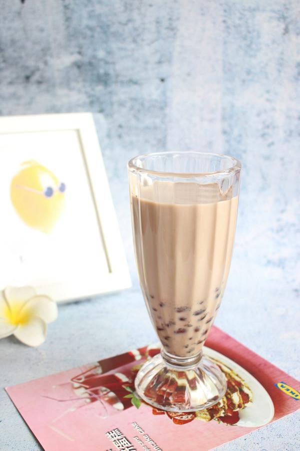 【红豆奶茶】自制更健康的做法