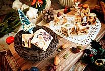 圣诞雪花酥 天津麻花版 节日伴手礼#安佳烘焙学院#的做法