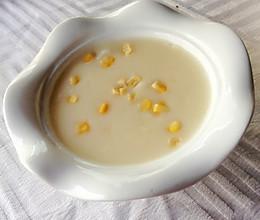 西式玉米浓汤的做法