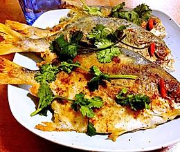 #今天吃什么#香煎金鲳鱼的做法