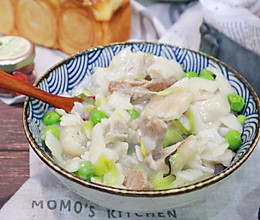 #节后清肠大作战#腊肉蔬菜煮豆丝的做法