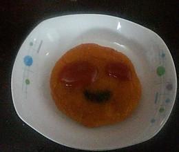 大小眼睛南瓜饼的做法
