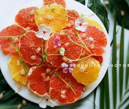 多彩夏季水果#葡萄柚沙拉#的做法