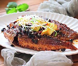 豆豉酥鱼的做法