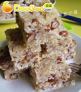 芸豆杂米糕的做法
