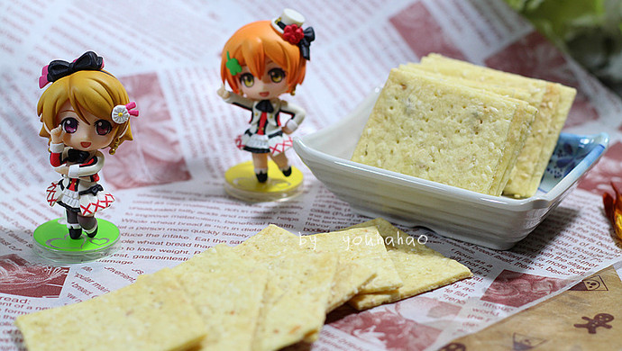 芝麻薄片饼干