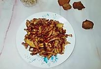 #下饭红烧菜#腊芋头烧肉的做法