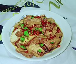 家常小炒五香豆腐的做法