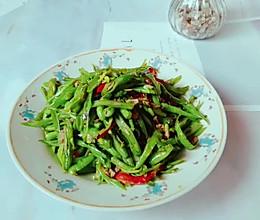 #下饭红烧菜#家常小炒四季豆的做法