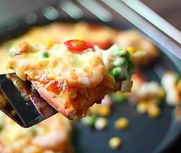 馅料十足的海鲜披萨的做法