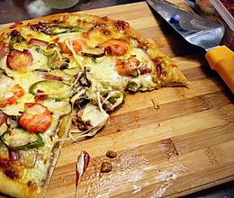 比必胜客好吃太多的【海路至尊披萨】——附红酱做法以及注意点~的做法