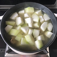 #资深营养师#秋后进补冬瓜排骨汤的做法图解6