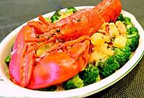 西式料理-奶油白汁龙虾伊面(龙虾意面)的做法