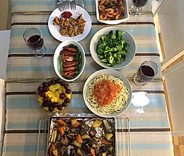 聚餐菜谱的做法