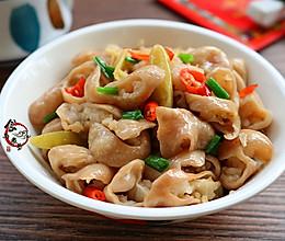 #把金牌大厨带回家#泡椒炒猪大肠的做法