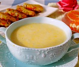 奶香蛋黄粥的做法