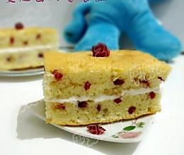 蔓越莓奶香蛋糕——烘焙大赛的做法