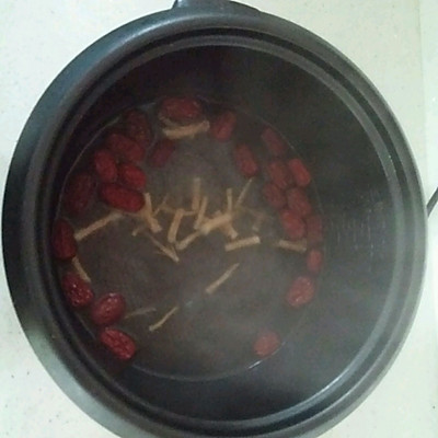 客家甜酒鸡蛋红枣汤的做法 步骤2