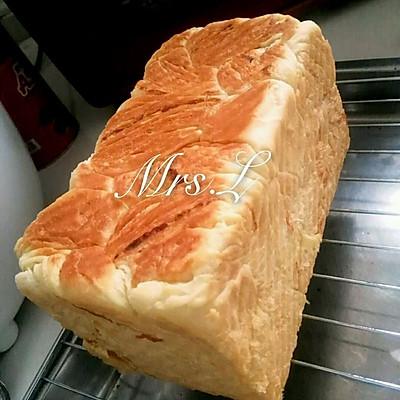 奶酪金砖吐司手撕面包香浓芝士味~超详细做法