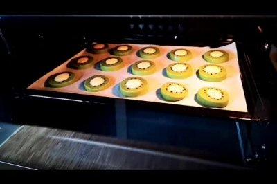 超萌可爱的猕猴桃饼干