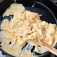 快手熊猫~木耳鸡蛋炒肉的做法图解2