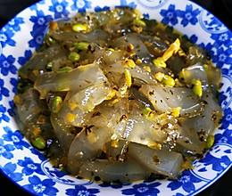咸菜炒粉皮的做法