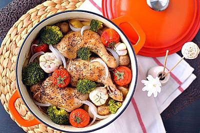 蒜香鲜蔬烤鸡腿#厨房致欲系#