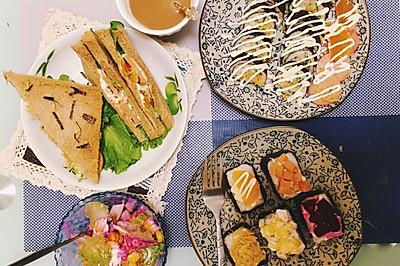 寿司系列(太卷,军舰,饭团,手握)