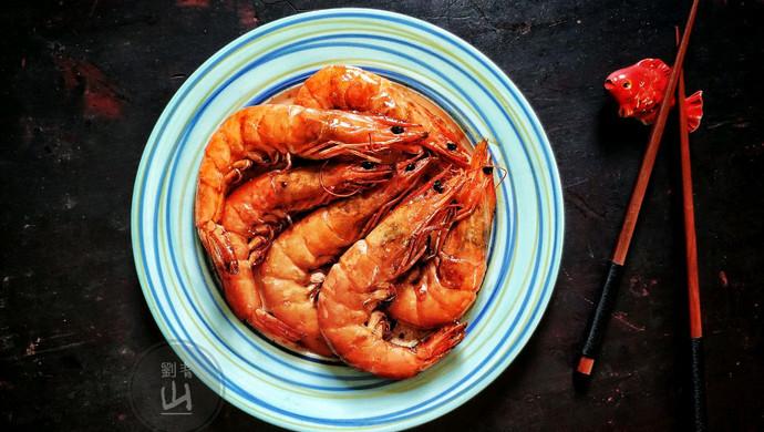 焅大虾#一人一道拿手菜#