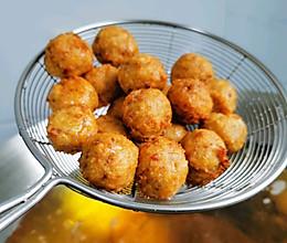 椒盐藕丸子的做法