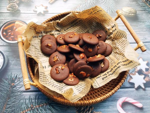 巧克力坚果脆脆的做法