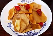 #巨下饭的家常菜#爽口简单脆萝卜片的做法