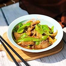 鲜蘑炒尖椒