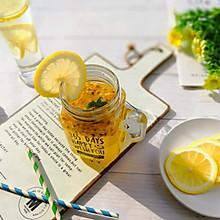 春季解燥滋润百香果柠檬茶#做道好菜,自我宠爱!#