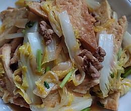 #巨下饭的家常菜#娃娃菜炖豆腐干的做法