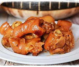#无腊味,不新年#香菜卤猪蹄的做法