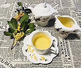 桂花茶的做法