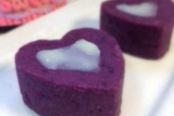 【奶香紫薯泥】的做法